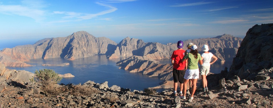 Hiking to Sham summit: Musandam Region - Oman