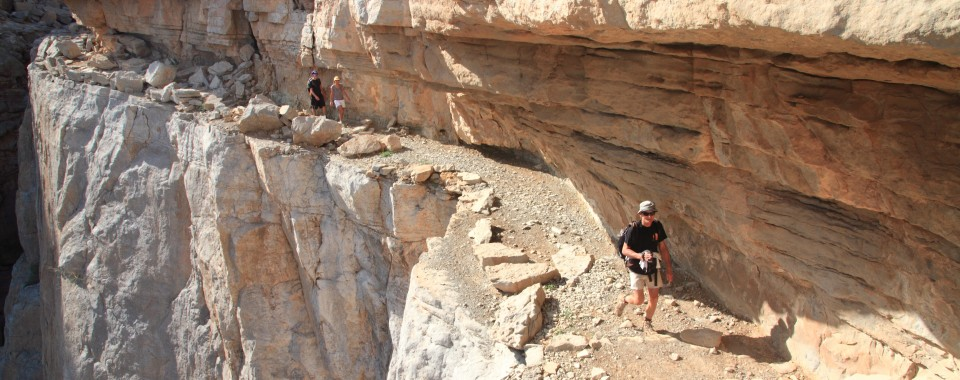 Magnifique rando à Tawi : Musandam - Oman