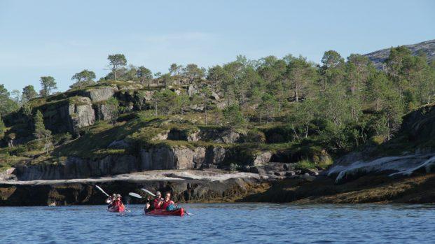 Voyage rando kayak en Norvege – Arctica Nature02