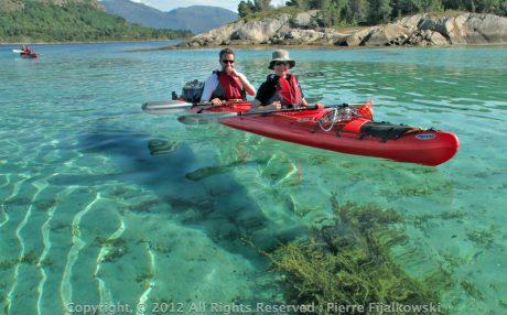 Voyage rando kayak en Norvege - Arctica Nature116