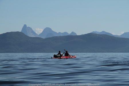 Voyage rando kayak en Norvege - Arctica Nature58