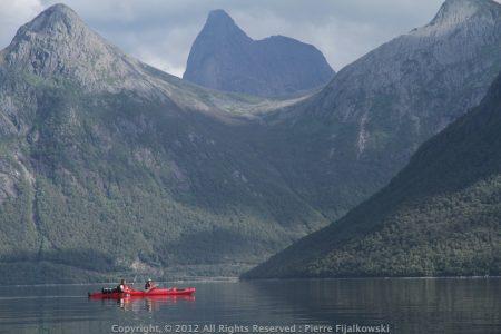 Voyage rando kayak en Norvege - Arctica Nature88