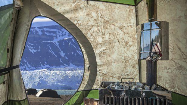Tente sauna Spitzberg