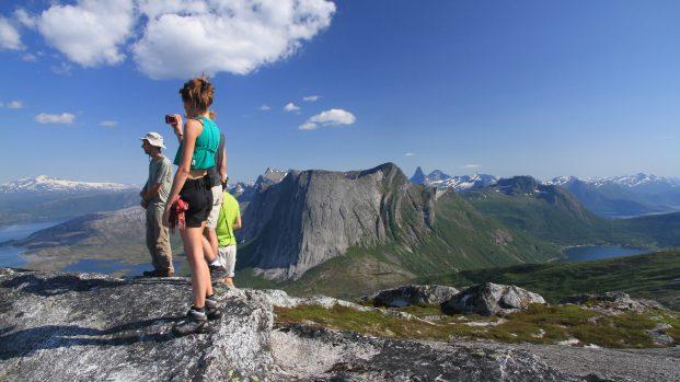 trek au Lofoten en Norvege